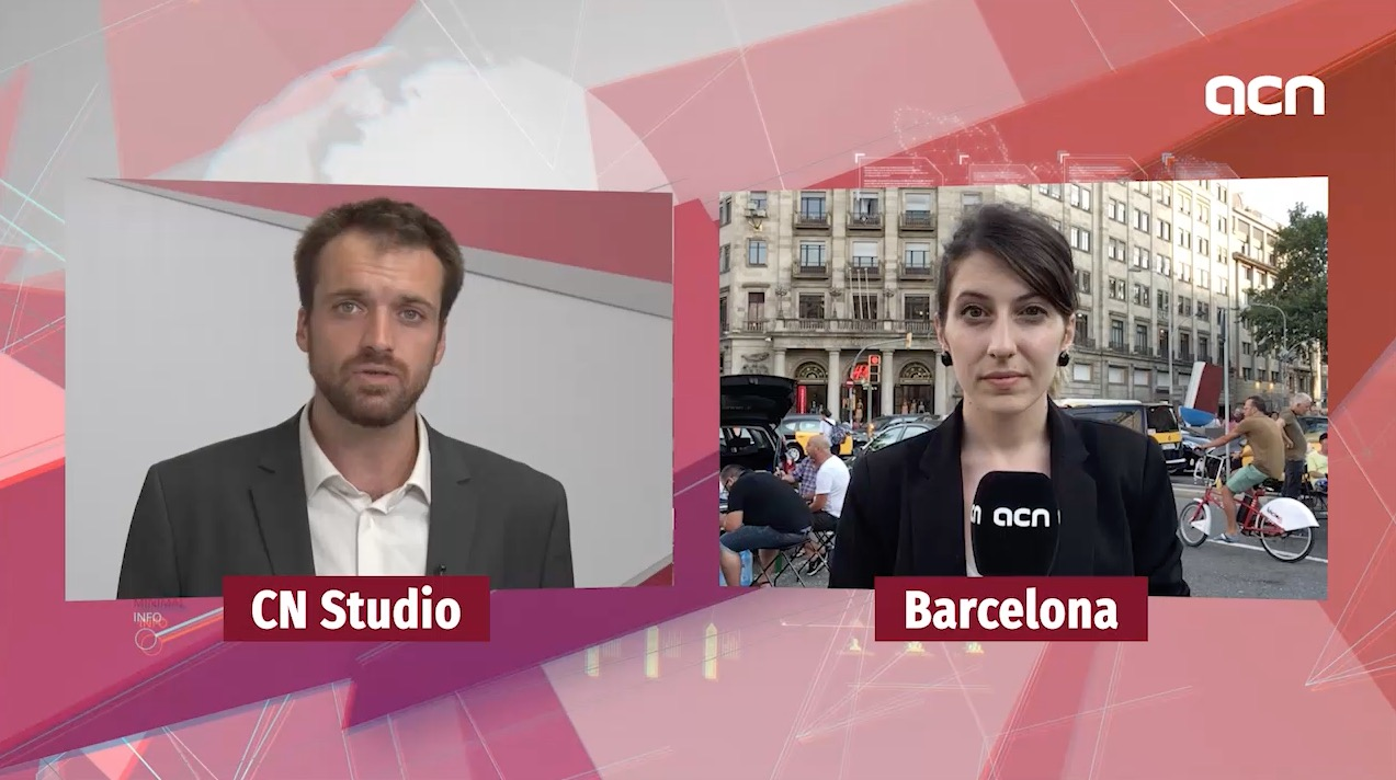 30-Jul-18 TV News: 'No end in sight for Barcelona taxi strike'
