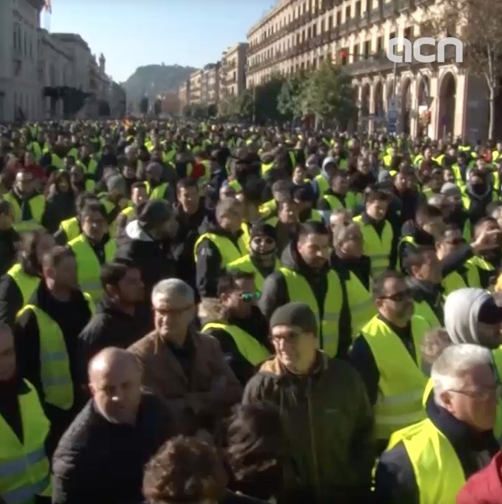 21-Jan-19 TV News in 100 Seconds: 'Taxi protests intensify'