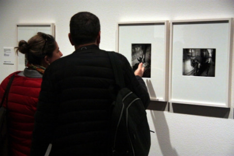 The exhibition about Gabriel Casas at the MNAC (by P. Cortina)