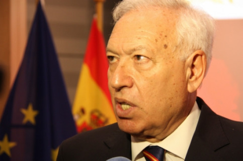 The Spanish Foreign Affairs Minister, José Manuel García-Margallo, a few weeks ago (by ACN)