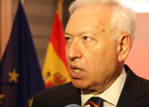 The Spanish Foreign Affairs Minister, José Manuel García-Margallo, a few months ago (by ACN)