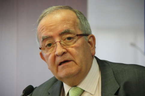 Pimec's President, Josep González, in September (by ACN)