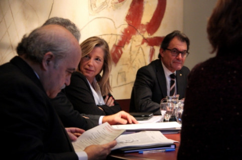 The Catalan Government meeting on 30 December, 2014 (by R.Garrido)
