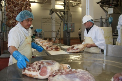 A Catalan company producing hams (by ACN)