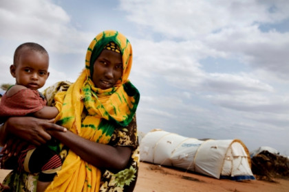 The humanitarian crisis in the Horn of Africa affects 13.5 million people (by Kate Holt / Unicef)
