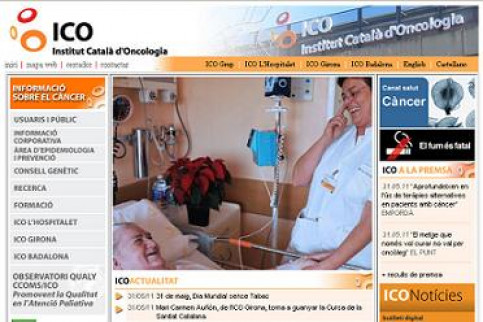 A caption from the website of the Catalan Institute of Oncology (by ICO / ACN)