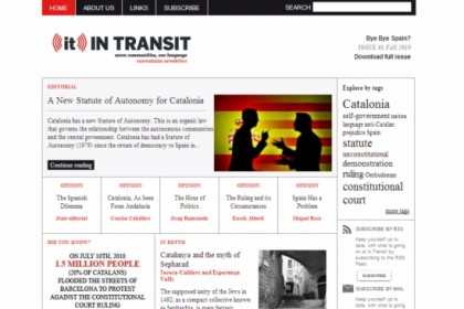 Intransit's website
