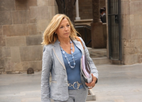 The Vice President of the Catalan Government, Joana Ortega, a few weeks ago (by P. Francesch)