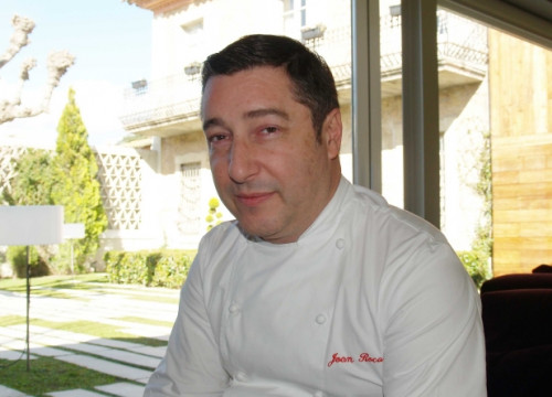 The 3 Michelin Star chef, Joan Roca, from the Celler de Can Roca restaurant (by Gastroteca.cat)