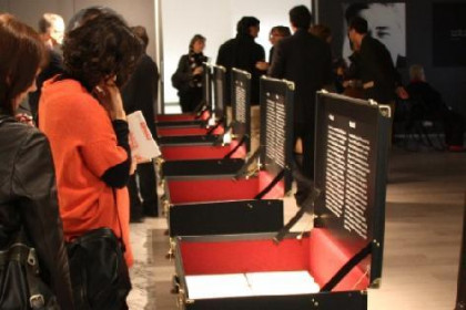 The exhibition 'European Cities of Josep Pla', in Brussels (by R. Correa)