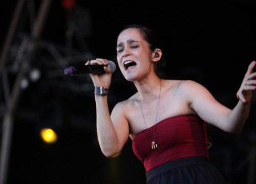 Julieta Venegas at the Cruïlla Festival (by O. Campuzano)