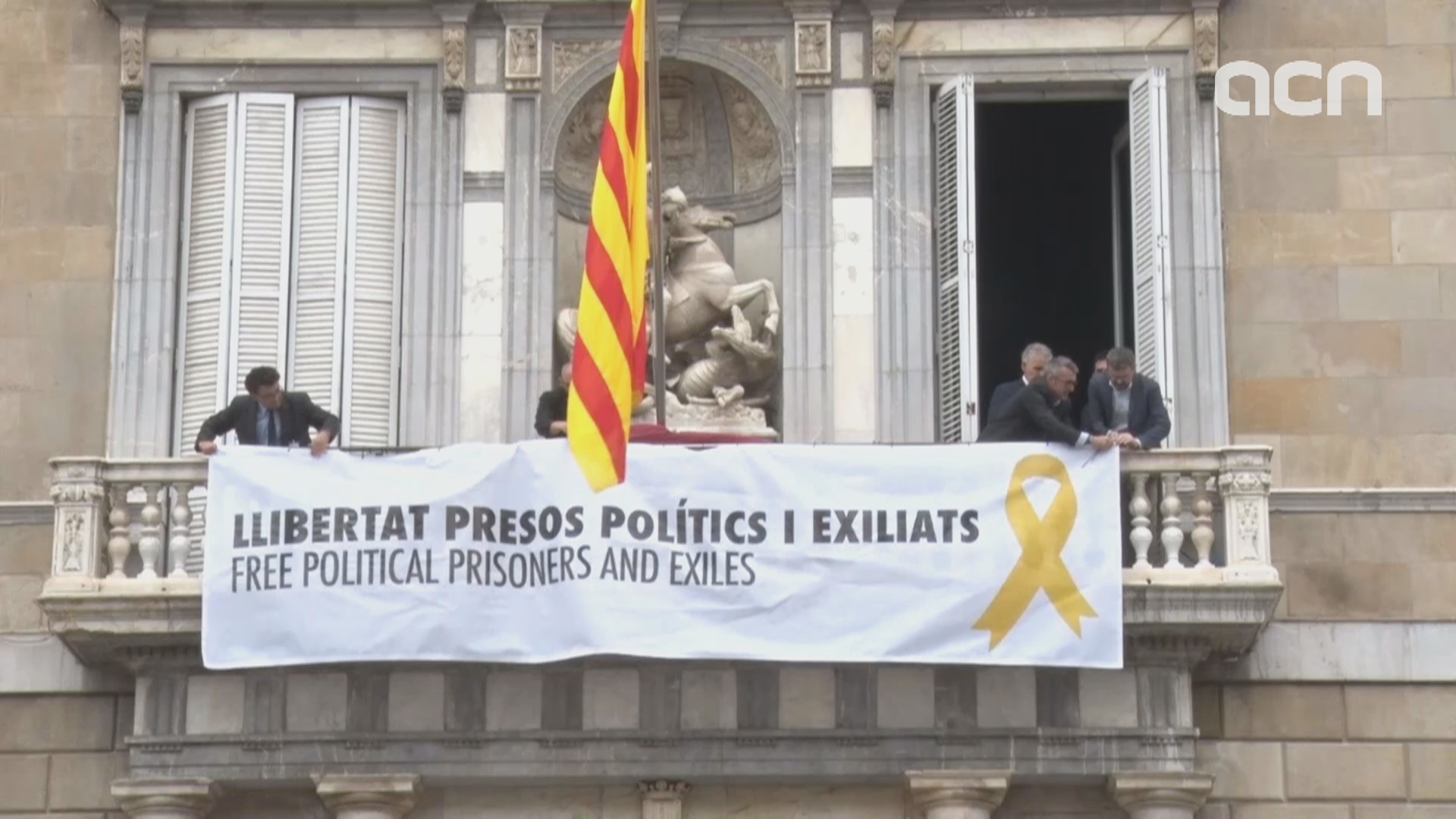 How the new Catalan government inauguration unfolded