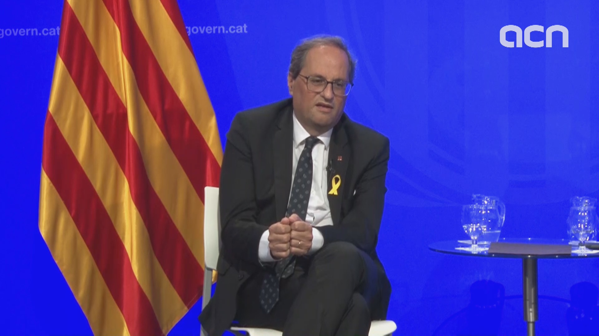 "President Torra calls on Spanish government for ""political solution"""