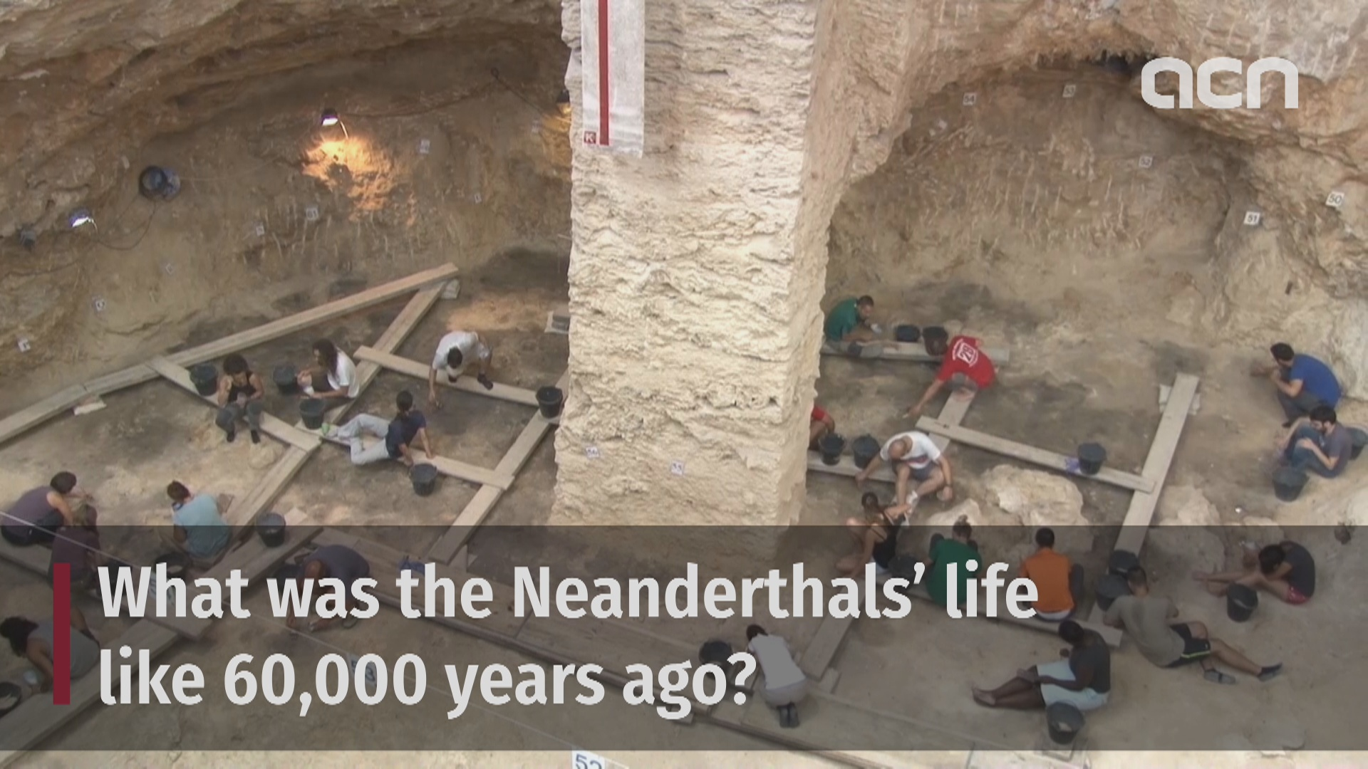 What was the Neanderthals' life like 60,000 years ago?