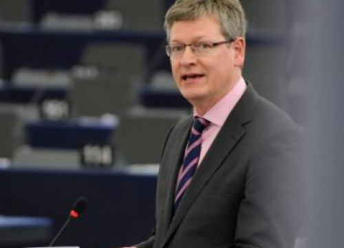 The European Commissioner for Employment, Lázló Andor, talking before Strasbourg's Plennary Session (by European Parliament)