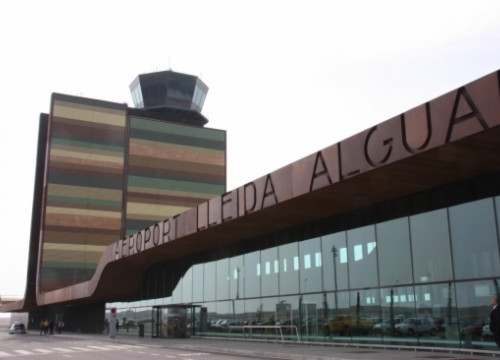 Lleida-Alguaire airport (by ACN)