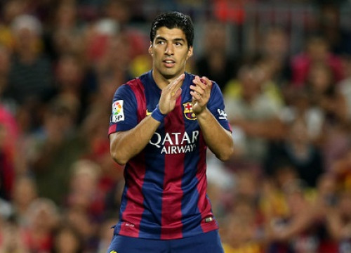 Luis Suárez might play against RCD Espanyol in Girona (by FC Barcelona)