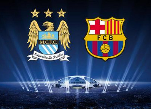 Manchester City and Barça will face each other at Champions League's Last 16 round (by FC Barcelona)