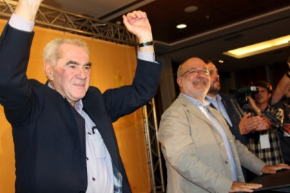 Maragall (left) and Terricabras (right) will be the ERC's two new MEPs (by ACN)