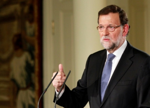 The Spanish Prime Minister, Mariano Rajoy, a few weeks ago (by La Moncloa / ACN)
