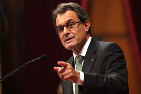 The President of the Catalan Government, Artur Mas, at the Debate on General Policy (by O. Campuzano)