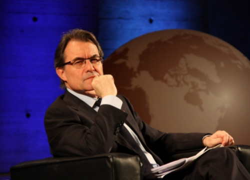 The President of the Catalan Government, Artur Mas, at UNESCO's 8th Global Conference (by L. Pous)