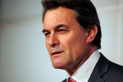 Catalan president Artur Mas (by ACN)