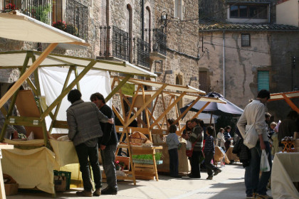 The ecological market of Rupià (by Gastroteca.cat)