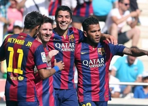 Luís Suárez scored 3 goals against Córdoba (by FC Barcelona)