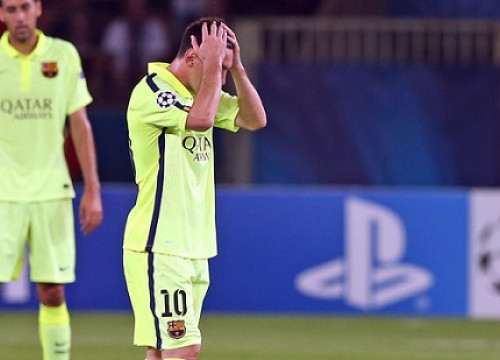 Leo Messi scored one goal but his efforts were not enough to guarantee Barça's win in Paris (by FC Barcelona)