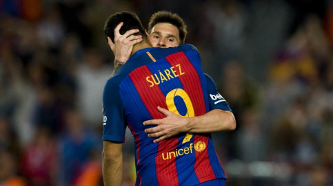 Messi put Barça ahead and then sealed the game late on with a fine solo effort (by FCB)