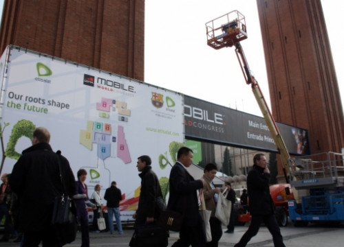 The Mobile Phone Congress in Barcelona in 2011 (by ACN)