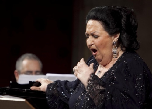 Montserrat Caballé singing in Peralada Festival in 2012, when she was 79 (by ACN)