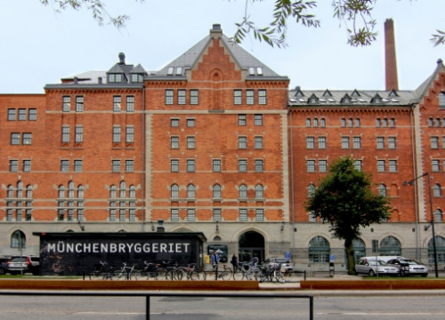 The Münchenbryggeriet building in Stockholm, which hosted the Sónar festival this last weekend (by Sónar)