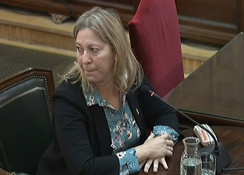 Former Catalan government spokesperson Neus Munté (by Guillem Roset)