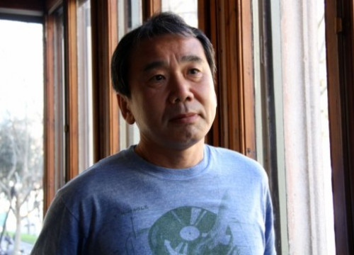 Haruki Murakami in a stay in Barcelona (by ACN)