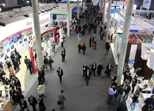 A few stands of the 2014 Mobile World Congress (by N. Sinkeviciute)