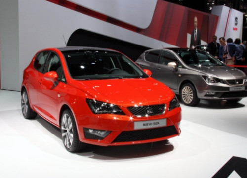 The new Seat Ibiza model launched in 2015 (by J. Morros)