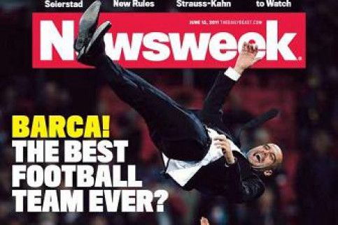 FC Barcelona to be frontpage of 'Newsweek' (by FC Barcelona / Newsweek)