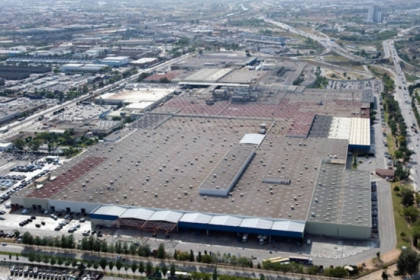 An aerial caption of Nissan factory in Barcelona (by Nissan/ACN)