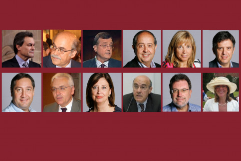 The faces of the new Catalan Government (by ACN)