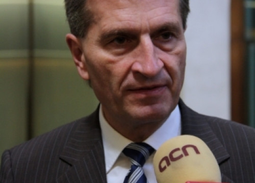 The European Commissioner for Energy, Günther Oettinger (by ACN)