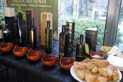 Olive oil from Taula del Sènia (by ACN)