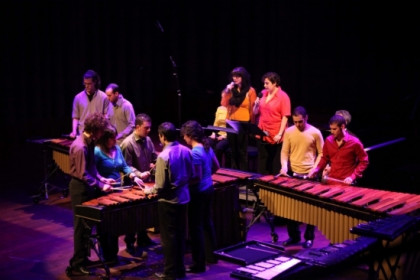 The SMUC students will also perform (by Festival Internacional de Percussió)