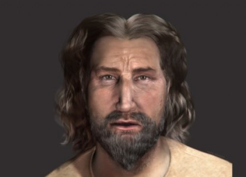 A reconstruction of Peter the Great's face (by ACN)