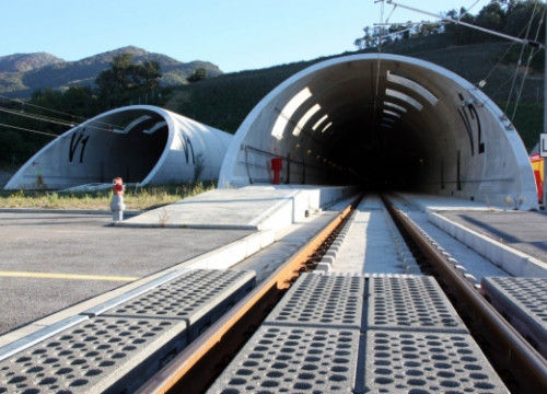 The transborder High-Speed Railway tunnel between France and Spain (by ACN)