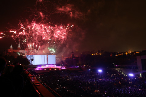 La Mercè's 'Piromusical', a show in which music and fireworks are synchronised (by ACN)
