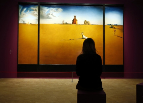 The Centre Pompidou will host Dalí's retrospective exhibition until 25 March 2013 (by Benoit Tessier / Reuters)