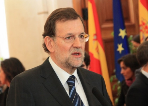 Spain's Prime Minister, Mariano Rajoy (by R. Pi de Cabanyes)