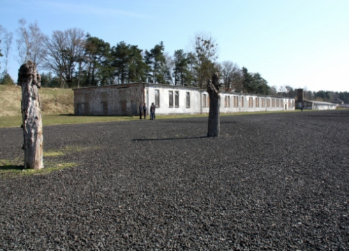 The Nazi concentration camp of Ravensbrück, on Sunday, when a tribute to the victims was held (by L. Pous)